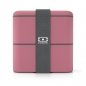 Mobile Preview: Mon Bento Square Blush Bentobox