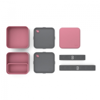 Mon Bento Square Blush Bentobox
