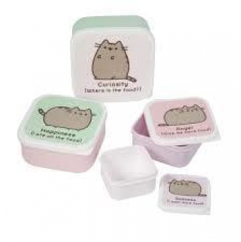 Pusheen Snackboxen 4er Set